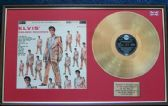 Elvis Presley - 24 Carat Gold Disc and Cover - Golden Records Vol 2